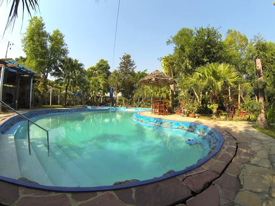 Riverside homestay - Tambon Ban Pao - Bungalow