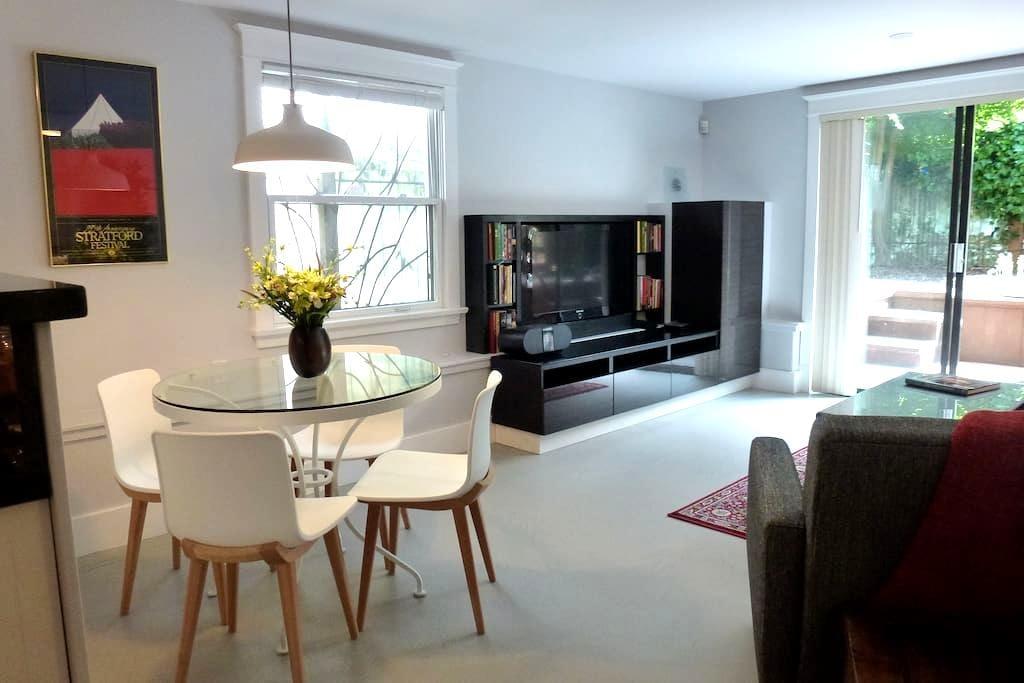 Stylish, modern 2 Bdrm Garden Suite - Vancouver - Haus