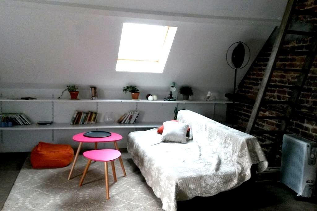 loft à la campagne - Zutkerque - Vindsvåning