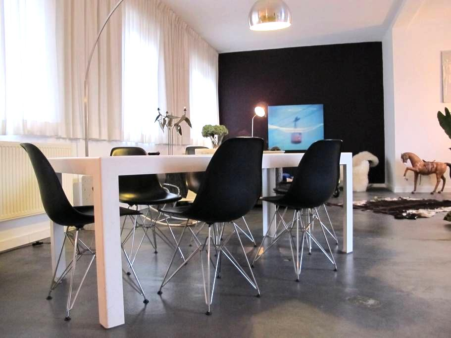 Stylish apartment in the city center of Ghent. - Gante