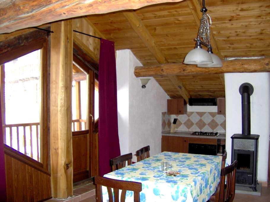 Ampia mansarda in antica baita - Soucheres-basses - Apartmen