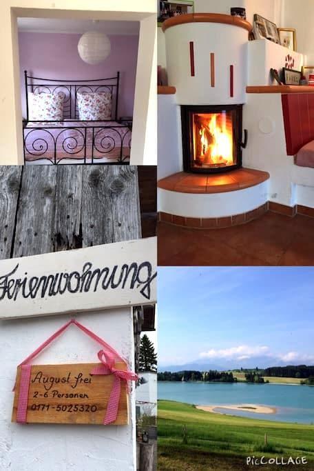 Ehemaliger Bauernhof im Allgäu - Eisenberg - House