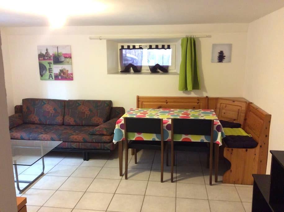 Logement entier en rez de jardin - La Cluse-et-Mijoux - Apartment