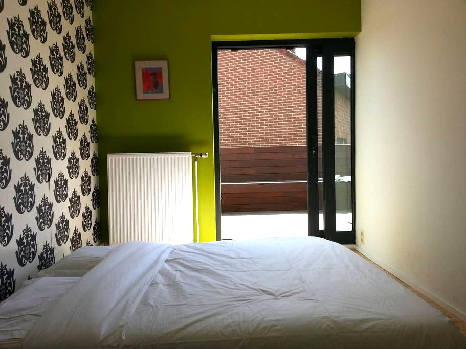 Nice room with bathroom and terrace - Leuven - House