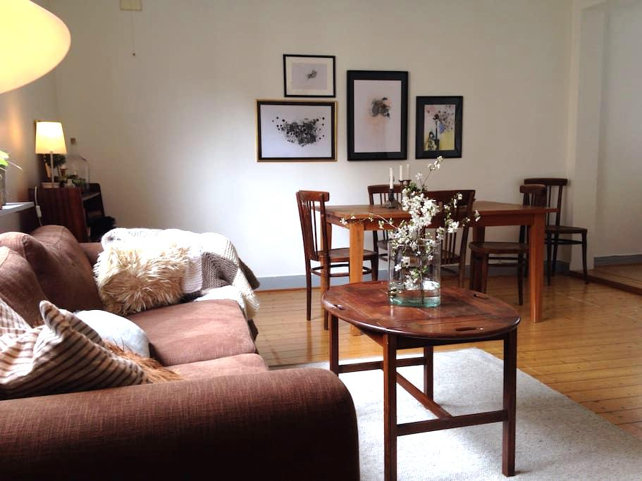 Big room in beautiful flat. - Gothenburg - Byt