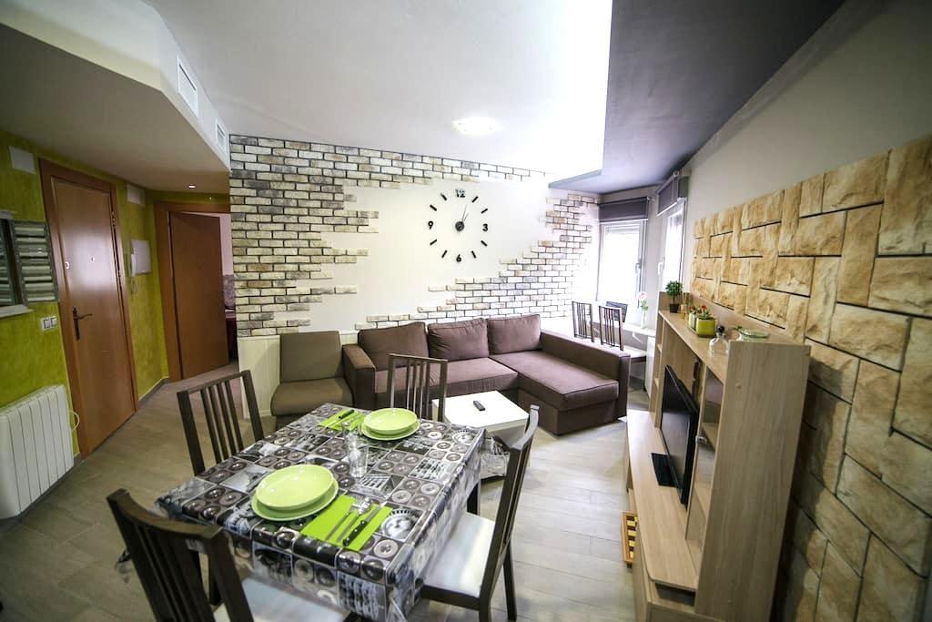 Ap. 4 min Plaza Pilar con garage op - Zaragoza - Appartement