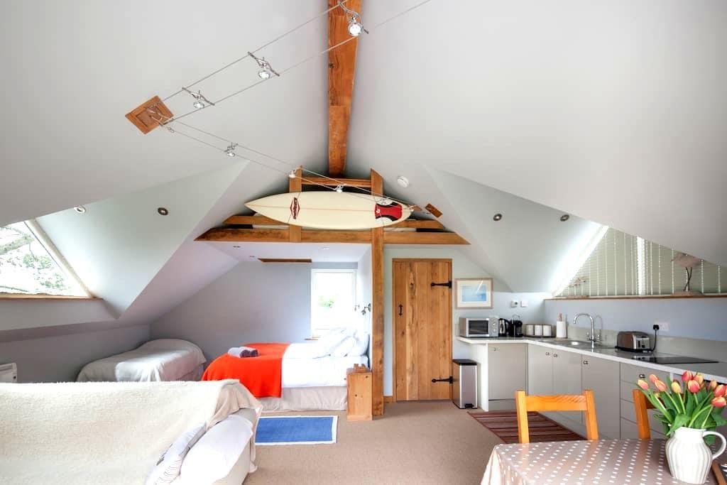 The Loft @ Aveton Gifford - Aveton Gifford - Çatı Katı