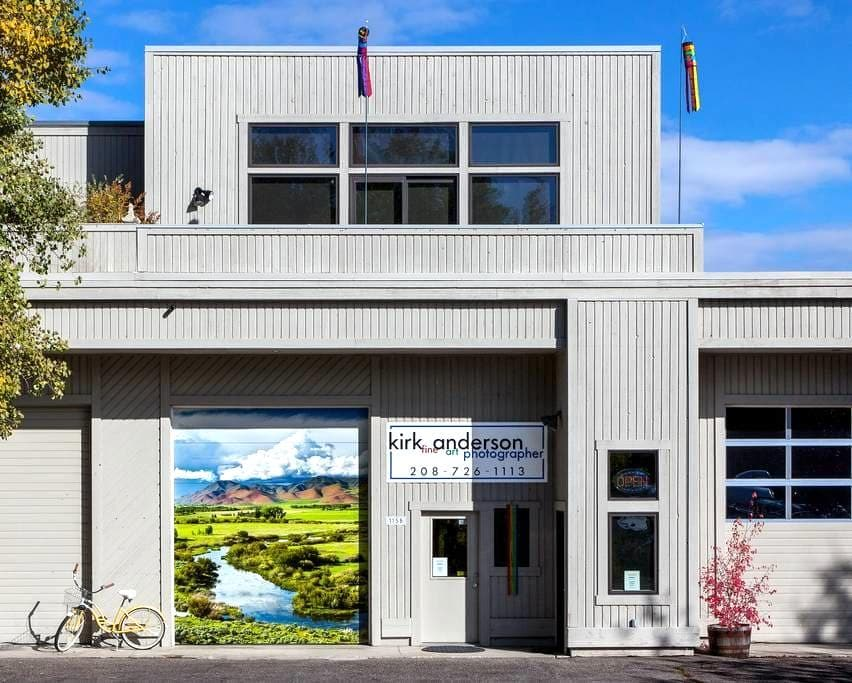 Gallery Loft Features Fine Art Foto - Ketchum
