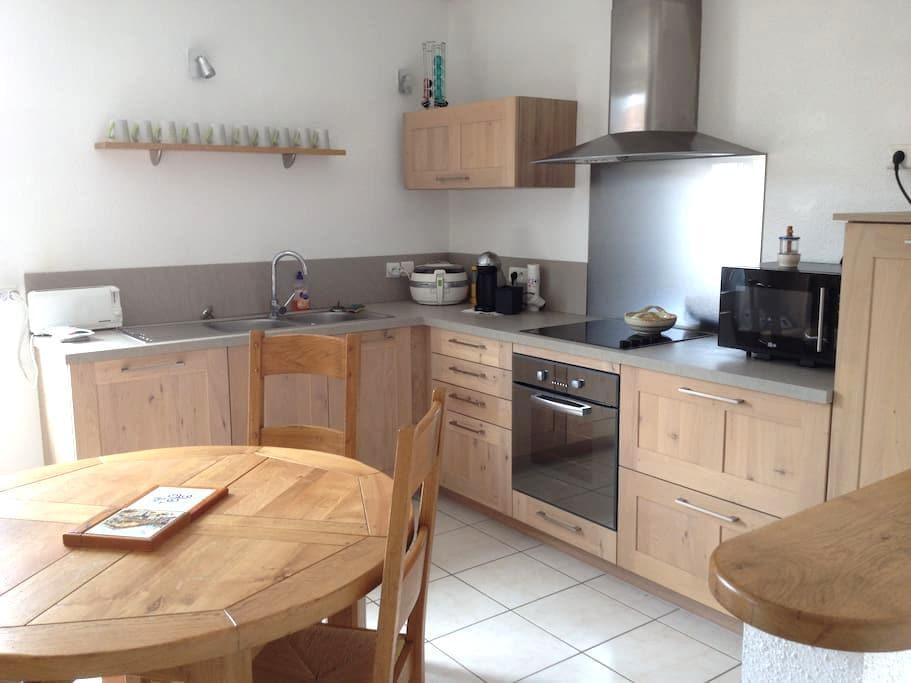 Bel appartement neuf, tout confort - Châtenois-les-Forges - Byt