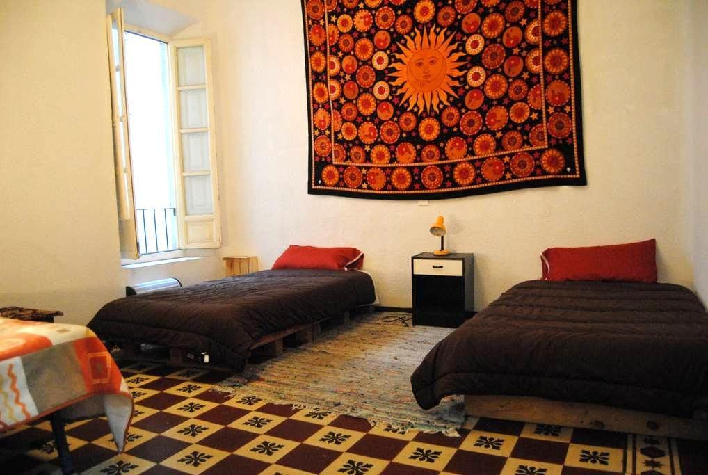 Habitación con dos camas - Grenade - Bed & Breakfast
