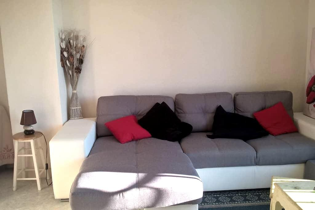 Chambre appartement lumineux à 10 min du CV - Besançon - Huoneisto