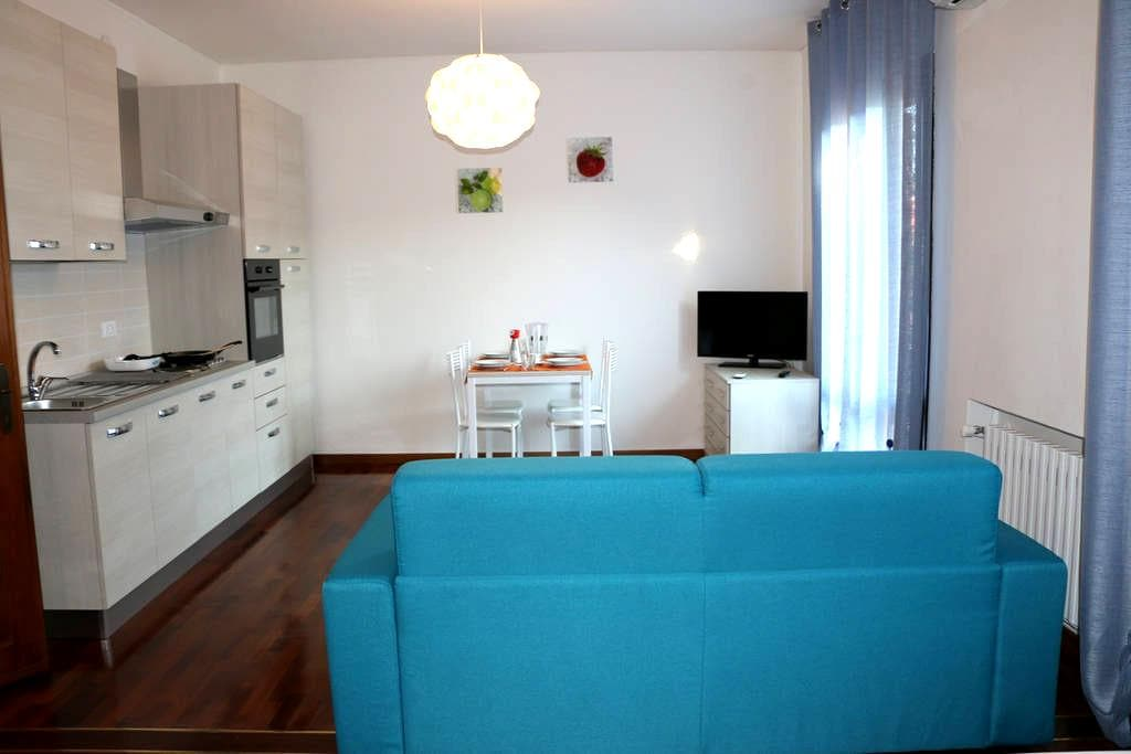 Modern apartment 2 in Villa with Garden view - Noventa di Piave - Apartamento