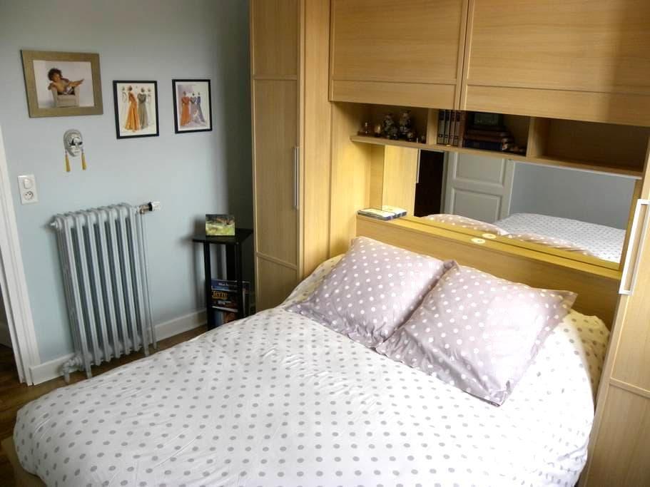chambre indépendante dans appartement. - Le Puy-en-Velay - Apartment