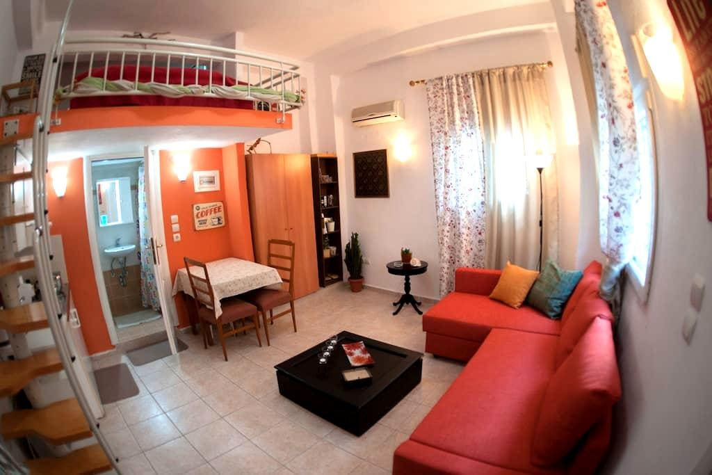 Cozy studio in the City Center - Agios Pavlos - House