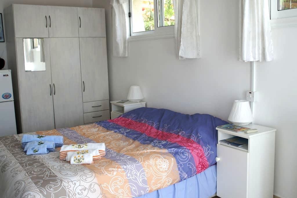 Cozy Studio 5min Sea, Bus, Chloraka - Chloraka - Apartment