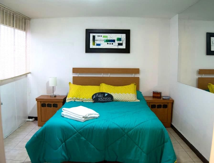 Lindo departamento cerca del zócalo de la ciudad - Heroica Puebla de Zaragoza - Apartamento