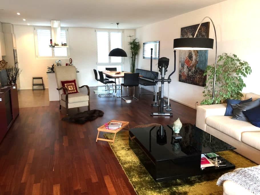 16 m2 Zimmer mit private Bad - Kreuzlingen
