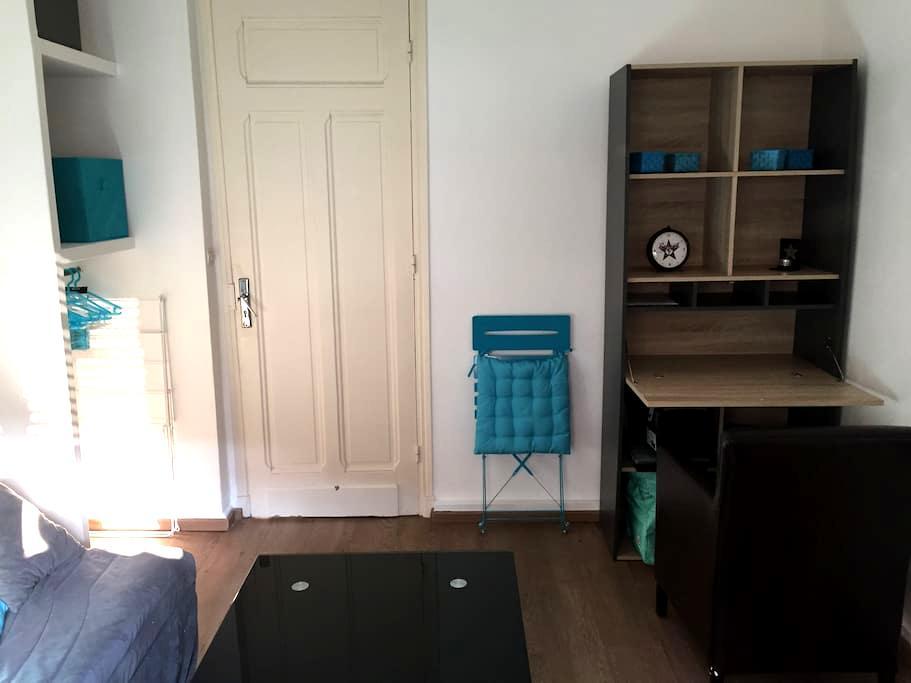 CHARMANT STUDIO AU COEUR DE LA VIE AZUREENNE - อองทีป - อพาร์ทเมนท์