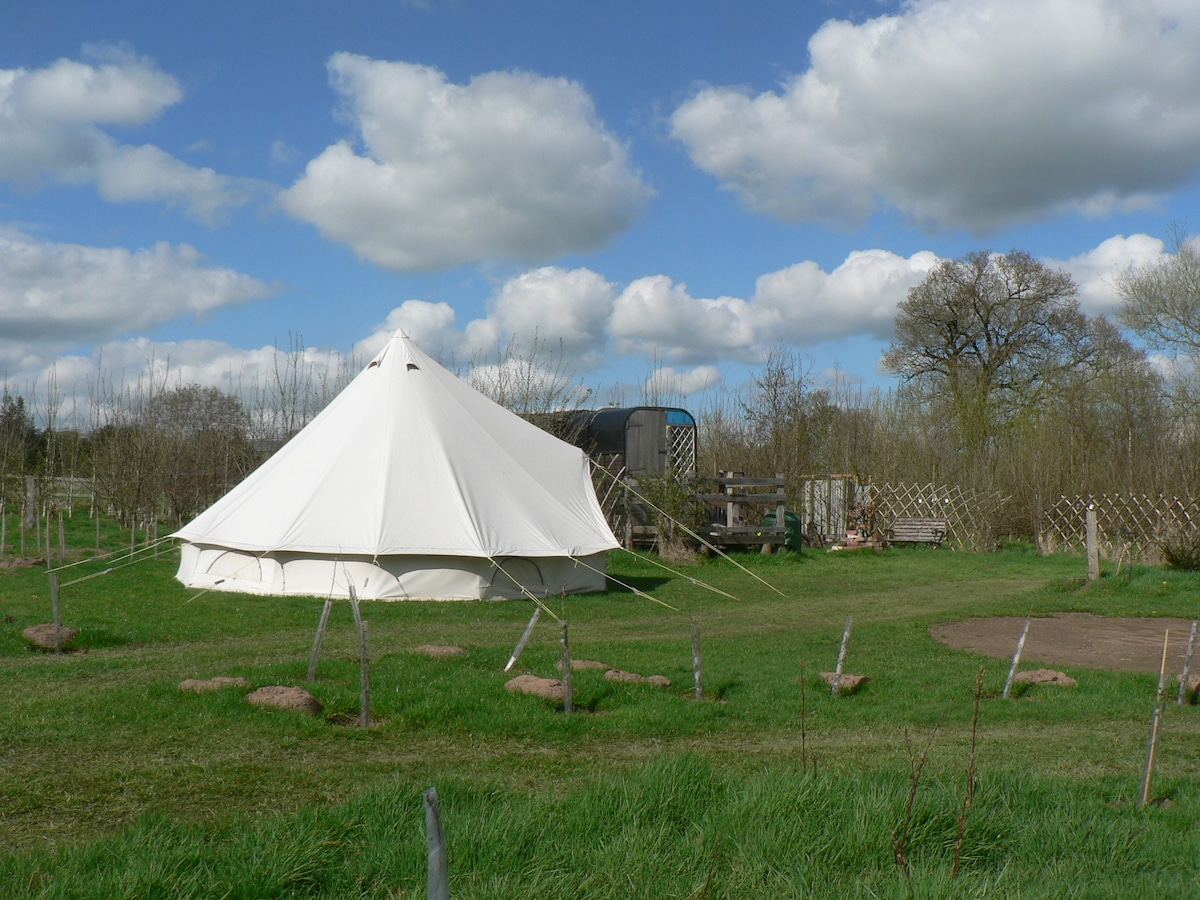 The 2018 Hoopla accomodation is NOT a Bell Tent!!! - Tents for Rent in English Frankton United Kingdom & The 2018 Hoopla accomodation is NOT a Bell Tent!!! - Tents for ...