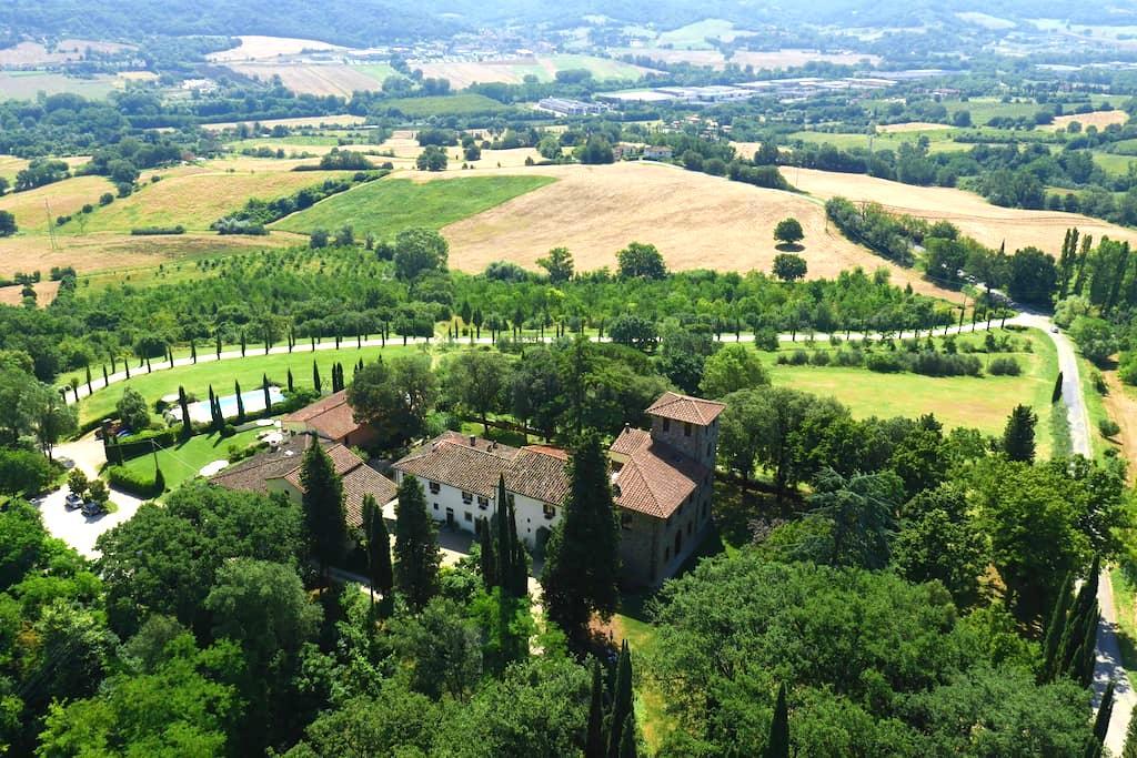 Apartment 90 Sqm with swimmingpool - Rignano sull'Arno - Villa