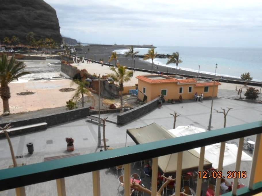 Apartamento Puerto Tazacorte en 1ª línea de playa - Tazacorte