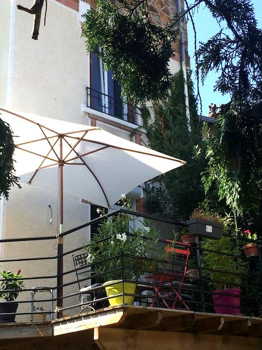 Chambre spacieuse dans maison des années 30 - Clermont-Ferrand - Casa