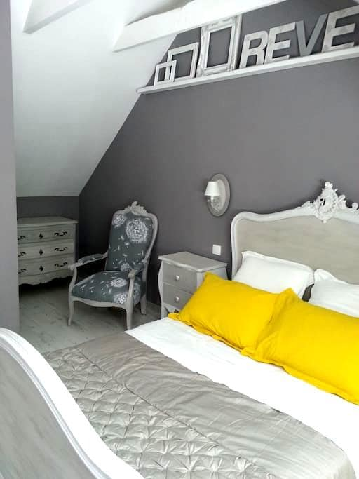 Chambres d'hôtes de charme Pont-Aven proche centre - Pont-Aven - Gæstehus