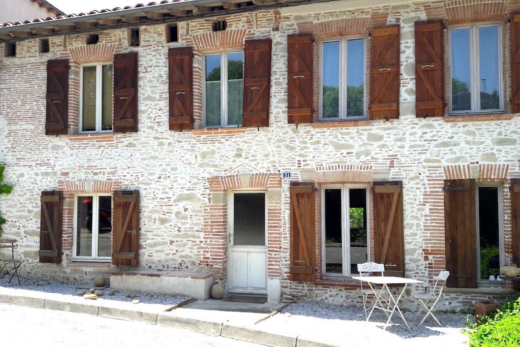 Maison en pierre - Loubens-Lauragais