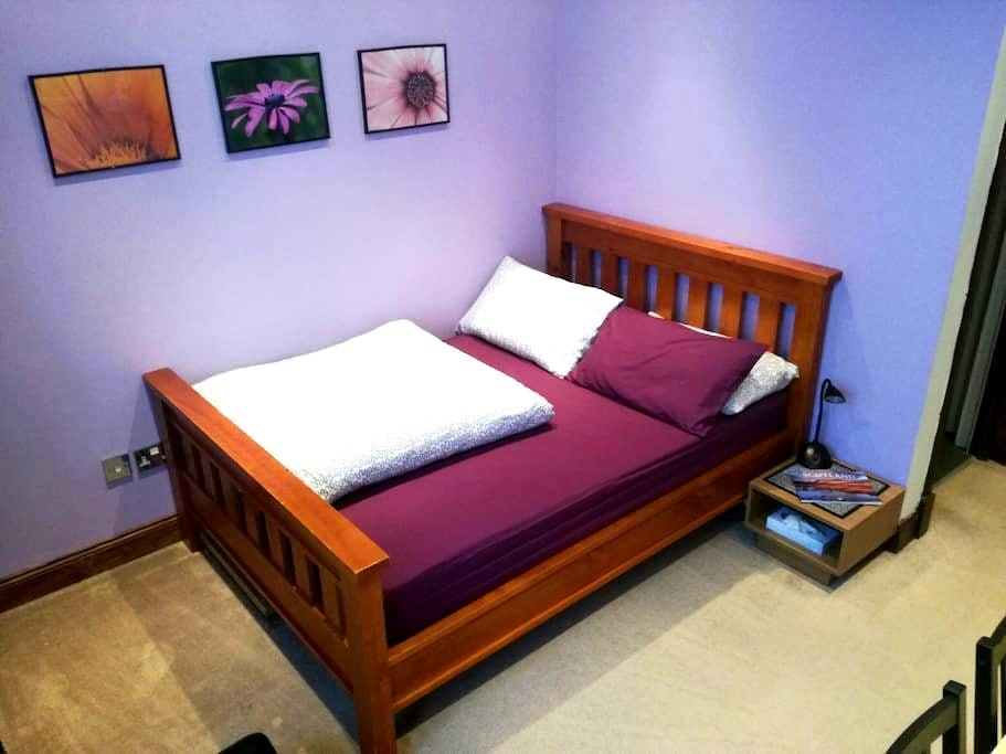 Cozy Double Bedroom With Private Bathroom - Glasgow - Apartment