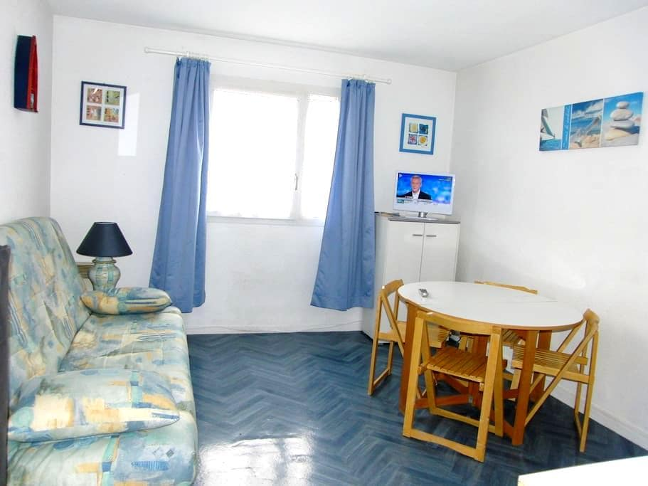 PLAGE : Studio PARKING SECURISE / Internet - Calais - Huoneisto