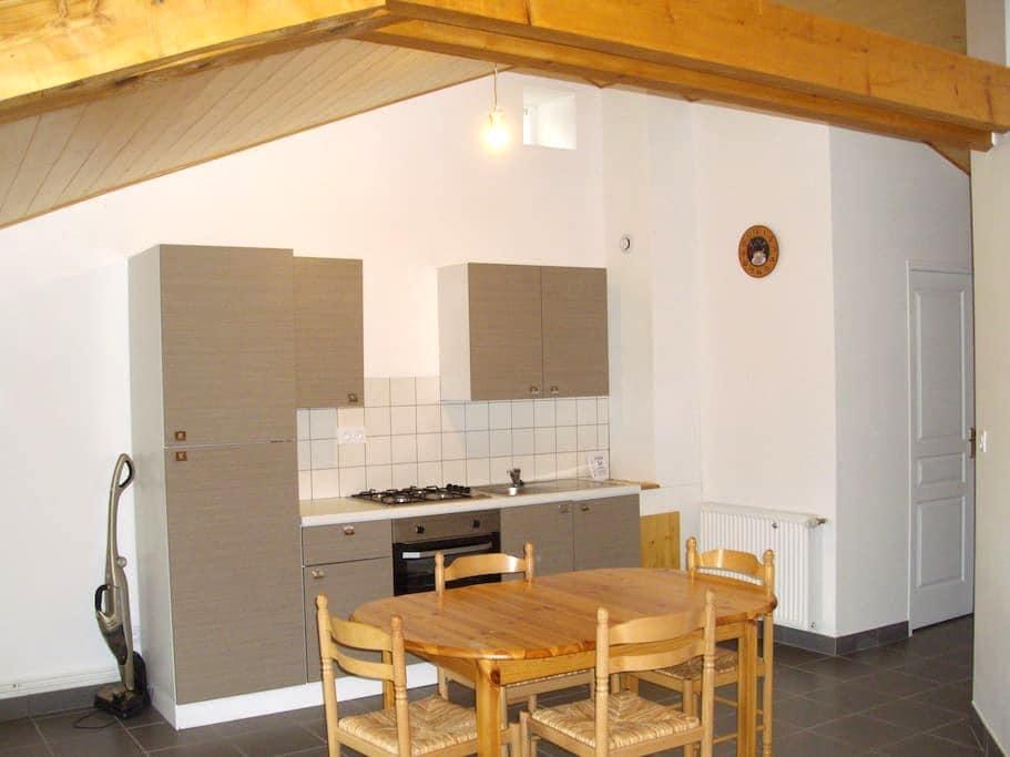 Studio meublé sous les toits à la campagne - Saint-Pal-de-Mons - Apartemen
