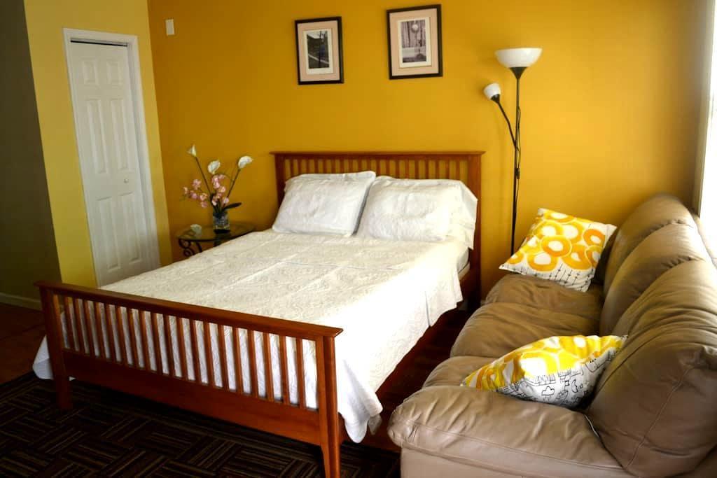Classic Modern Bedroom Suite & Bath - Atlanta - Complexo de Casas