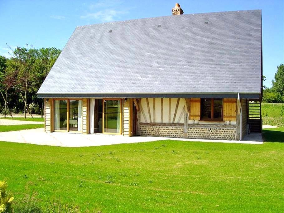Gîte Pomme Cannelle: confort, couleur, espace - Hattenville - Huis