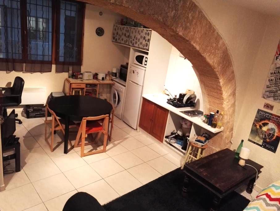 Studio de 30m² en centre ville - Montpellier