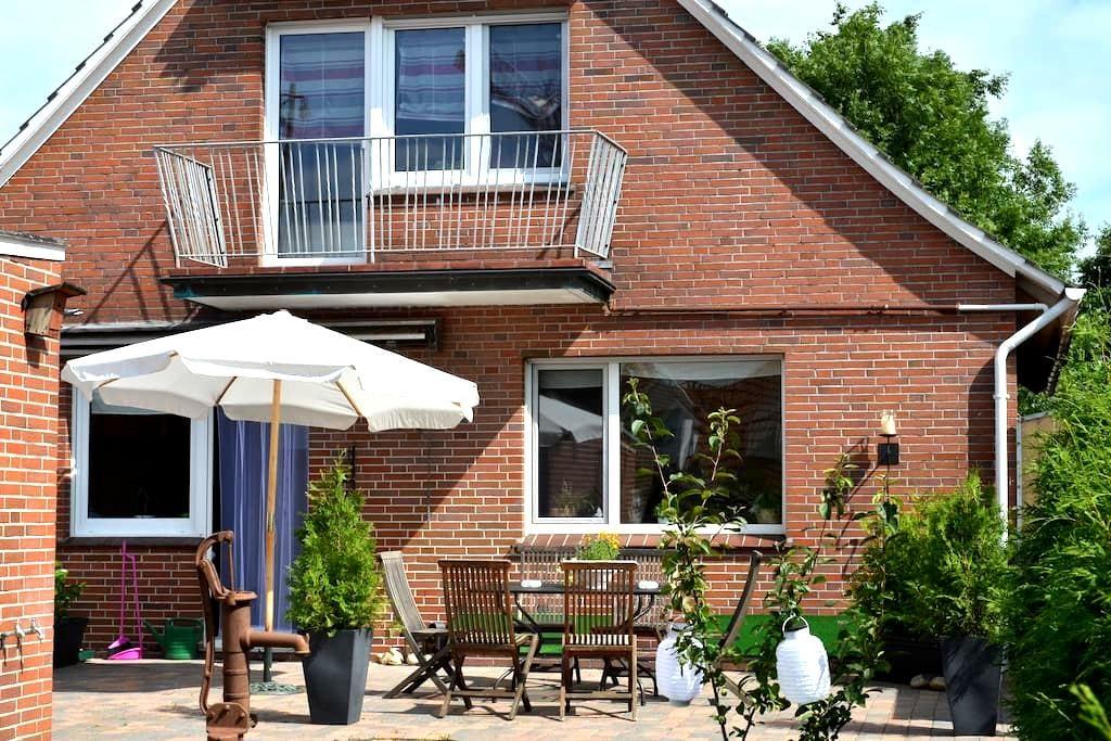 Komfortables Ferienhaus in Ditzum - Jemgum - บ้าน