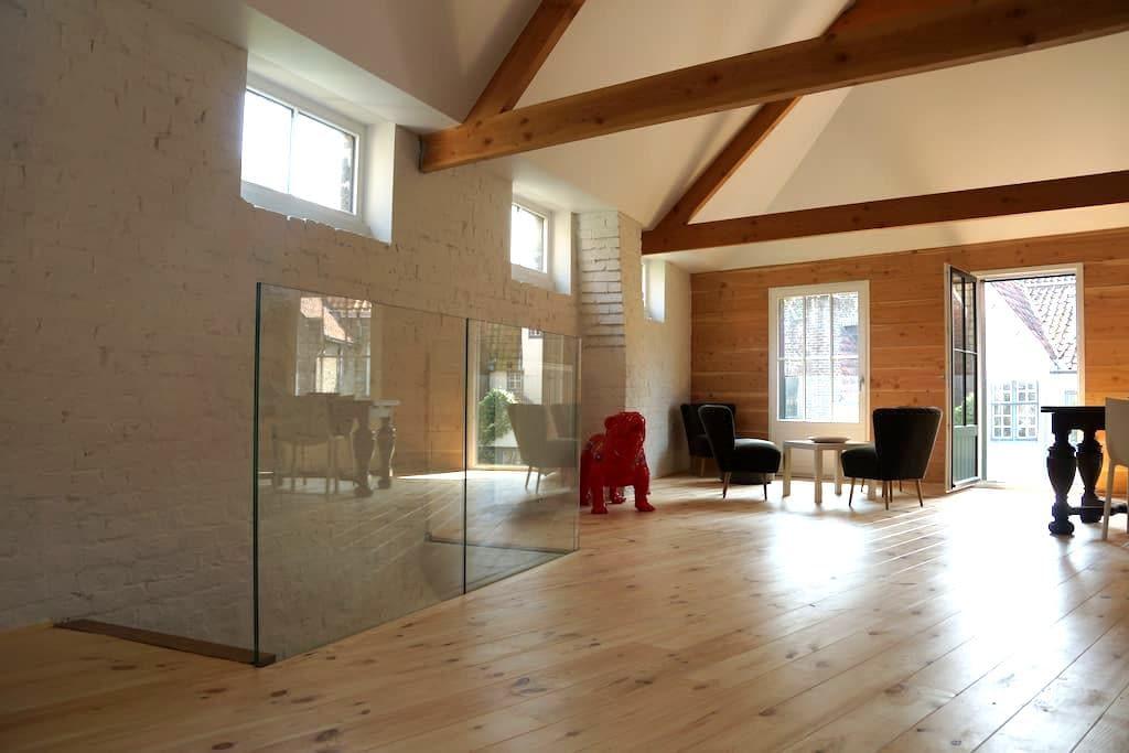 luxurious loft in historic heart of Bruges - Brujas - Loft