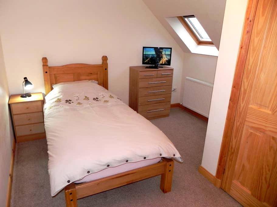 A single room upstairs. - Na h-Eileanan an Iar - Casa