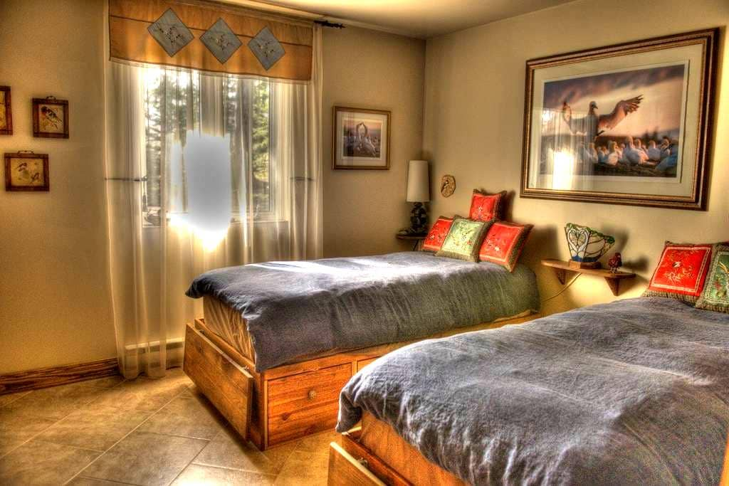 Peaceful and quiet room. - L'Ange-Gardien