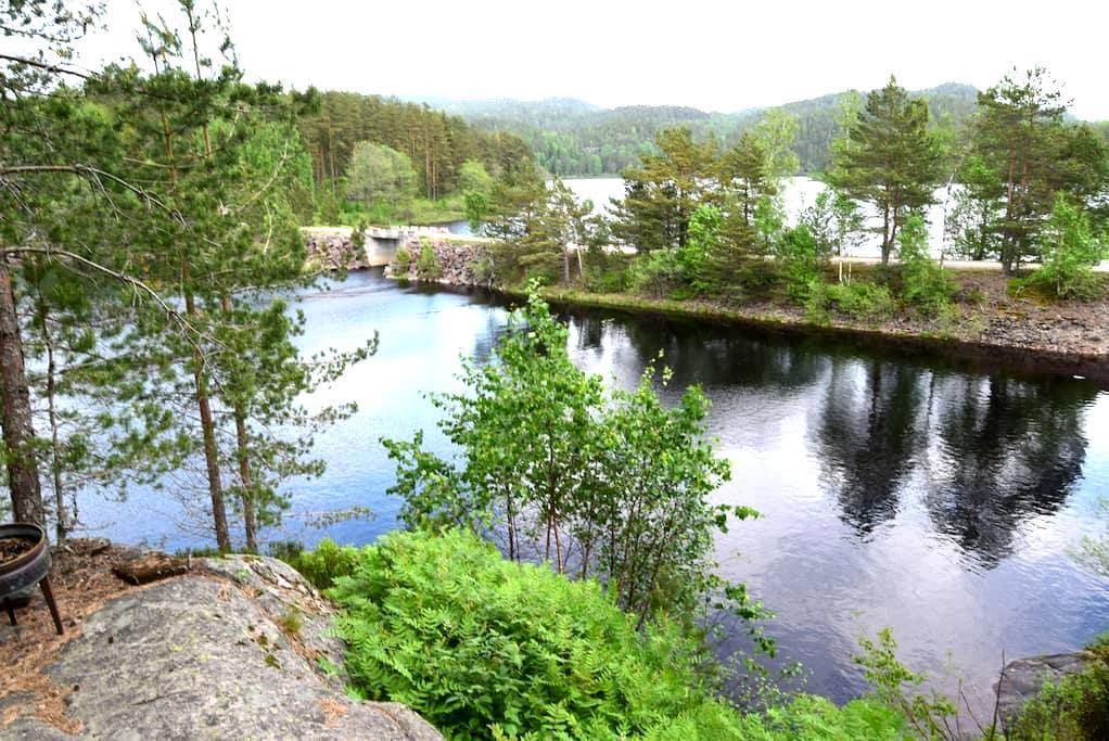 452. Hytte med kano Evje/ Kilefjord - Evje
