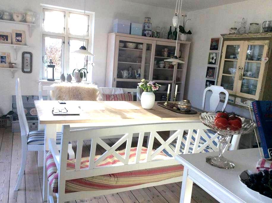 Charming house, 30 min from Aarhus - Ry - Таунхаус