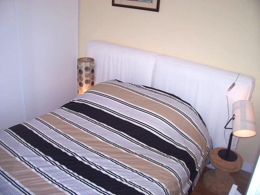 chambre dans appartement ensoleillé proche plage - Saint-Nazaire
