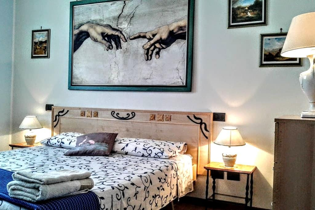 Double room near Verona - Caldiero - 家庭式旅館