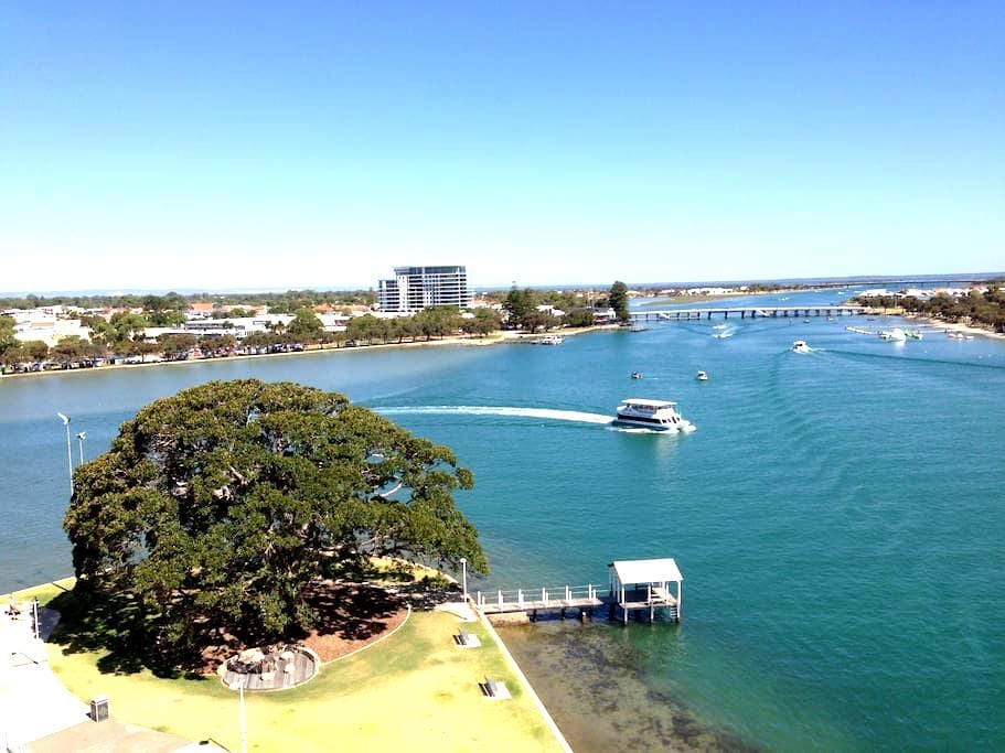 Dolphin 2 Bedroom Unit in the heart of Mandurah - Mandurah - Leilighet