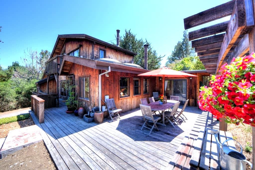 Stunning reclaimed wood home Bdrm#2 - Point Reyes Station - Hus