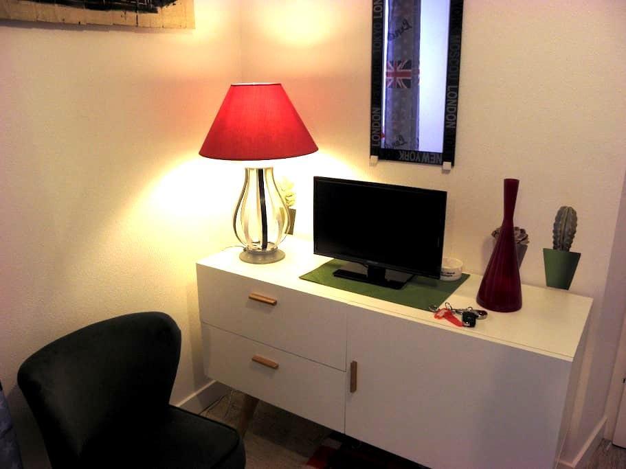 Studio with garden in the heart of Vannes - Vannes - Appartement