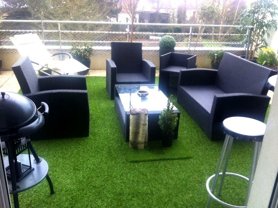 Chambre cosy avec TV - Rennes - Apartament