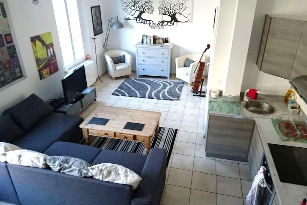 T3 vue sur parc - Sisteron - Apartment