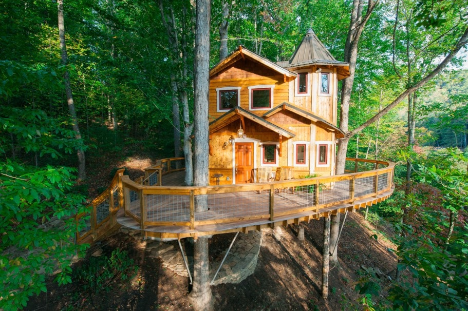 Treehouse#bucketlist   Treehouses For Rent In Asheville , North Carolina,  United States