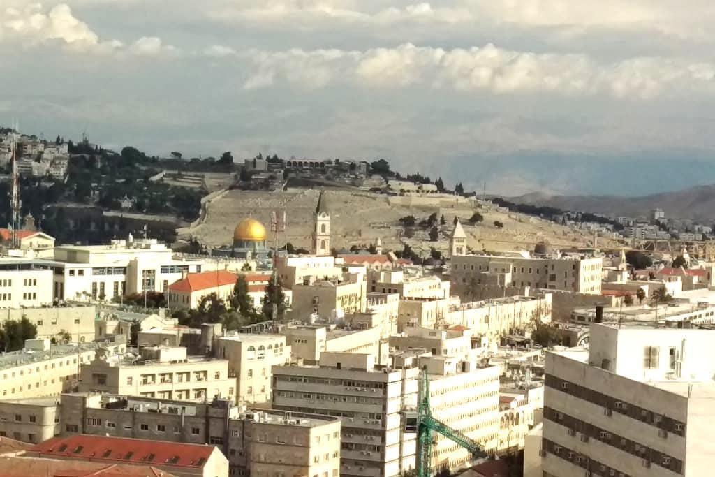 Centre & Sommet  de Jerusalem 1914 - Jérusalem - Appartement