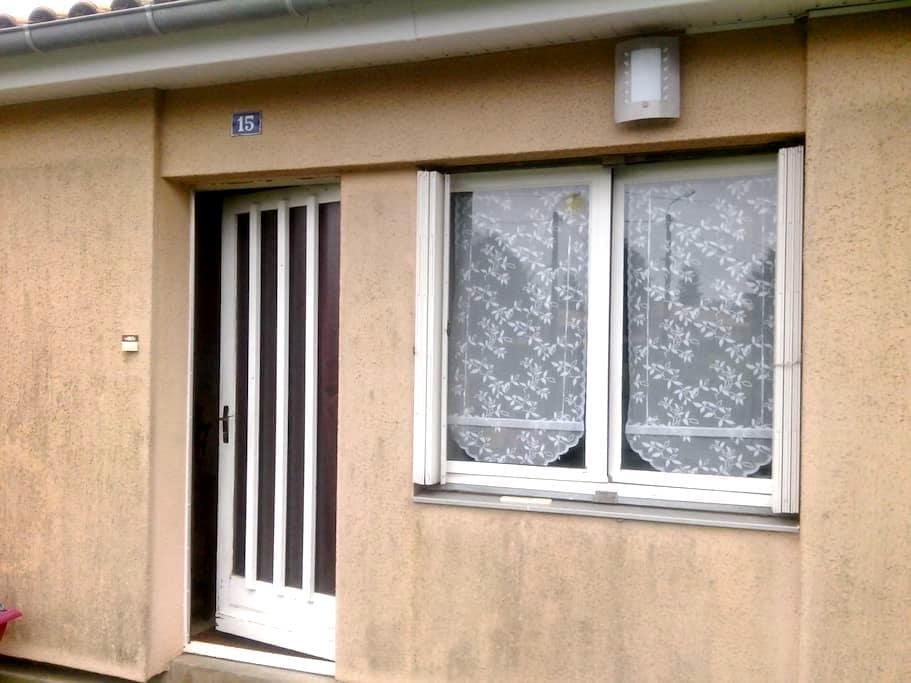 chambre privée acces direct jardin - Celles-sur-Belle - House
